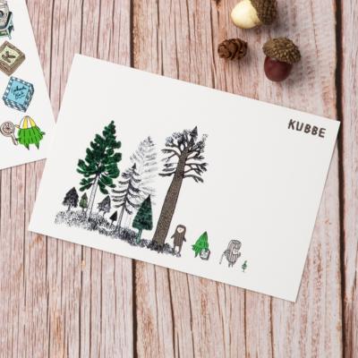 KUBBEポストカードO