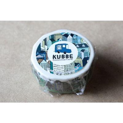 KUBBEマスキングテープ 街