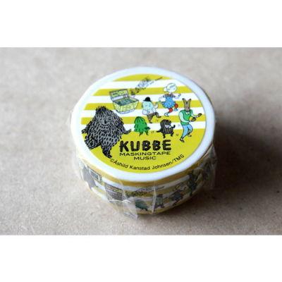KUBBEマスキングテープ ミュージック