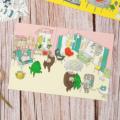 KUBBE ポストカード2-D