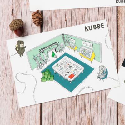 KUBBEポストカードT